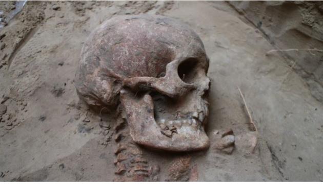 На Хортиці знайшли поховання скіфського воїна, якому близько 2500 років