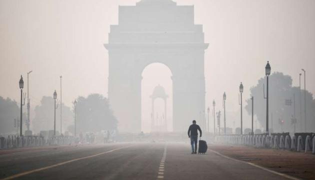 В Индии после «фестиваля огней» небо затянул токсический смог