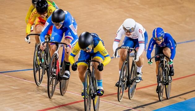 Збірна України стала четвертою в медальному заліку чемпіонату Європи з велотреку