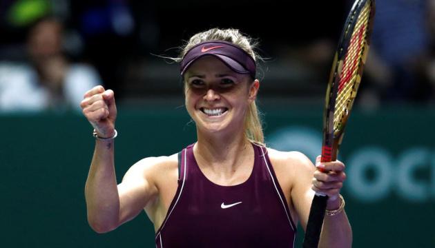 Tennis: Svitolina bleibt weiter in TOP-5 der WTA-Rangliste