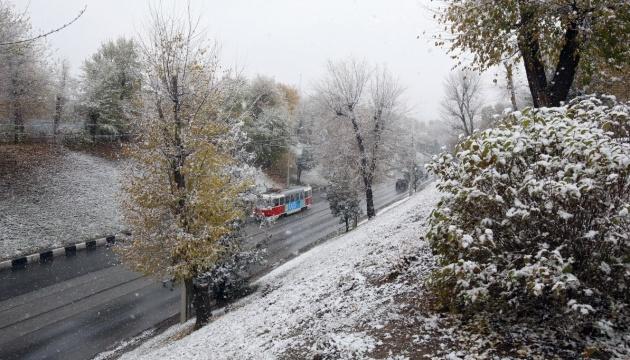 Циклон Ahmet принесе в Україну дощ та мокрий сніг