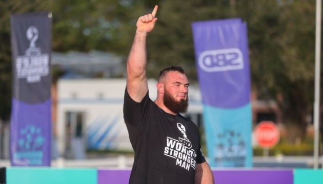 Ukrainian Novikov wins World's Strongest Man title