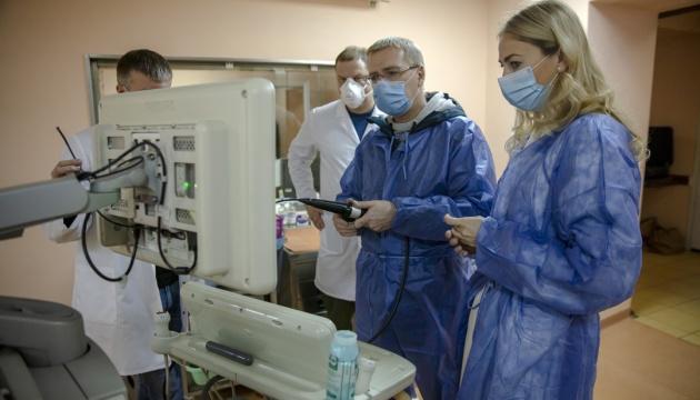 Абоненты Киевстар помогли приобрести медицинское оборудование для Института Амосова