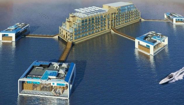 В Еміратах з'явиться готель-палац на воді