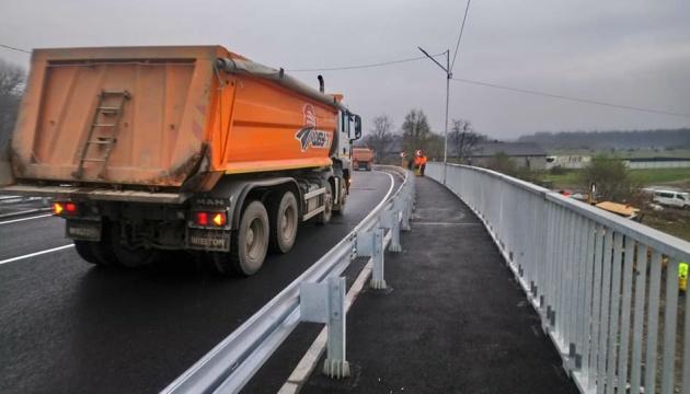 На Закарпатье запустили движение через мост-долгострой в Буштыне