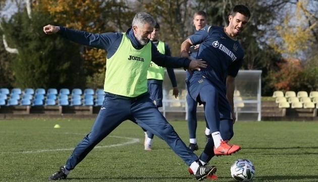 Сборной Украины по футболу разрешили провести предигровую тренировку