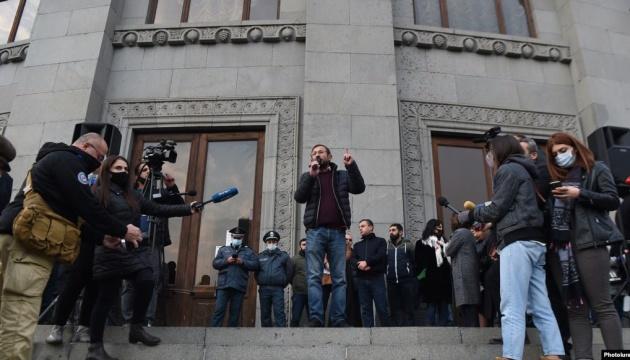 У Єревані знову мітинг - вимагають відставки Пашиняна