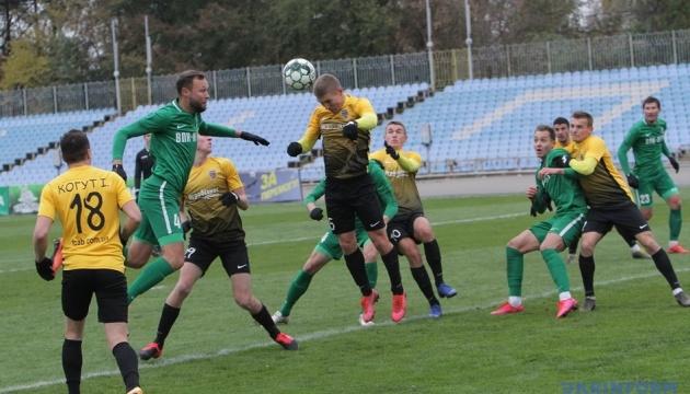 Первая лига: «Агробизнес» победил «ВПК-Агро» в последней игре 13 тура