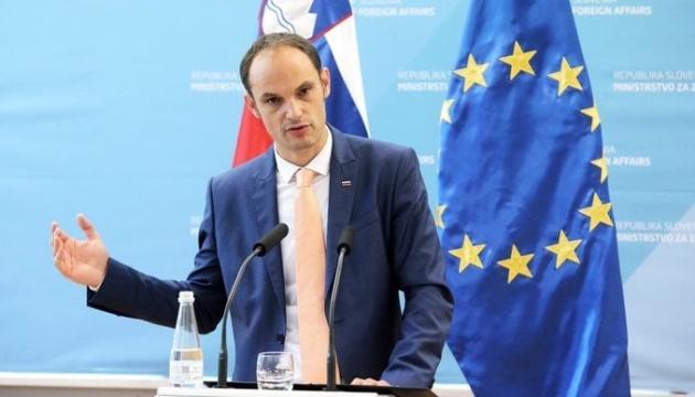 Le ministre des Affaires étrangères slovène se rend en Ukraine pour une visite officielle