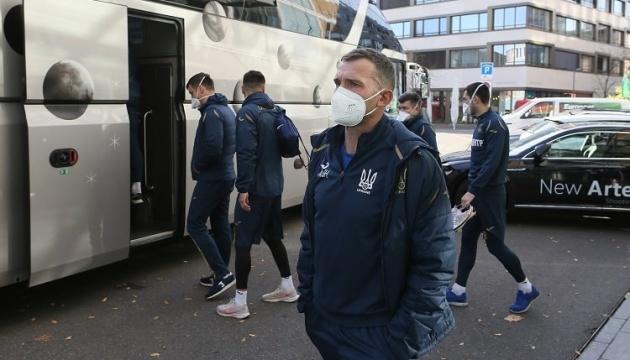 Сборная Украины по футболу вылетает из Цюриха домой