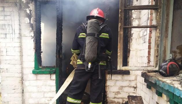 На Кировоградщине в пожаре погибли двое детей
