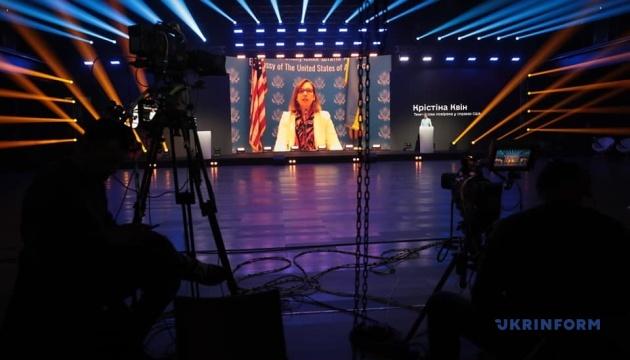 U.S. will remain steadfast in its support for Ukraine - Kvien