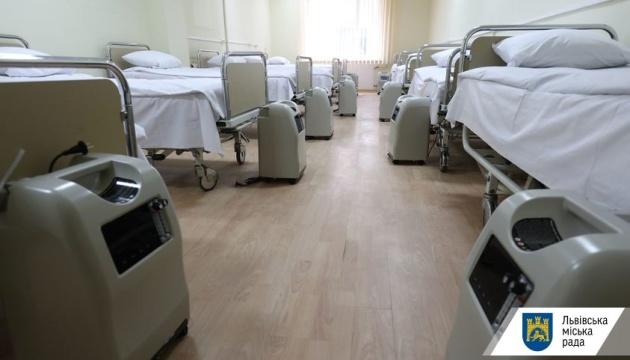У Вінниці в СОVID-лікарнях зайняті 83% кисневих точок