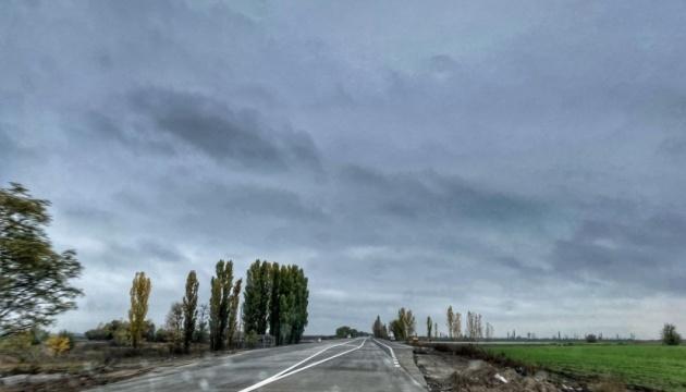 На Николаевщине открыли новую бетонную дорогу