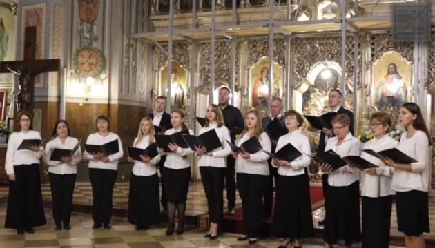 Фестиваль духовной музыки в Мукачево в этом году собрал четыре коллектива