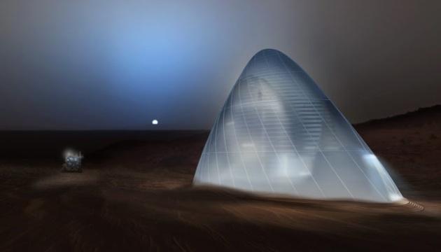 Перші люди на Марсі житимуть у скляних куполах - Маск