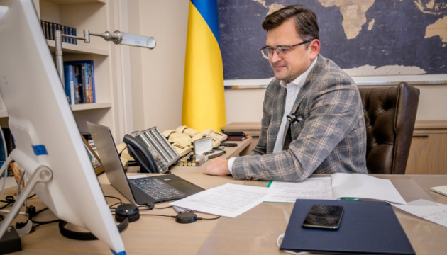 Kuleba invites UWC to take part in development of new policy towards Ukrainians abroad