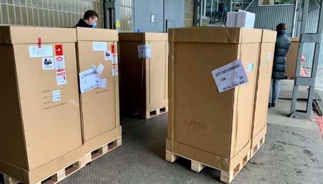 В українські лікарні доставлять 100 апаратів ШВЛ
