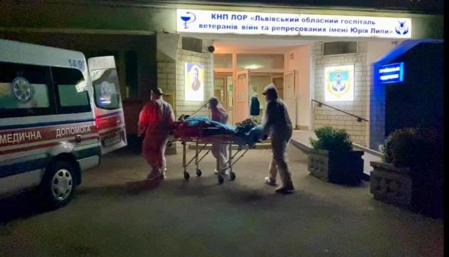 Во Львовском госпитале, где произошел взрыв, монтировалась дополнительная кислородная сеть