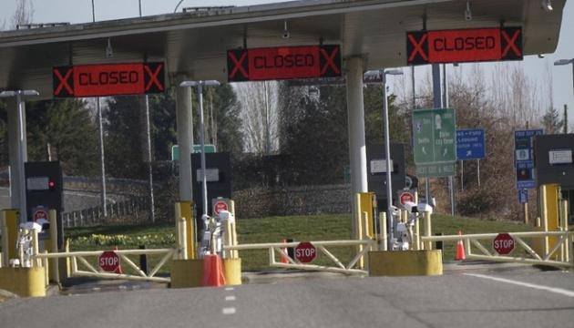 Кордон між Канадою та США залишатиметься закритим ще місяць