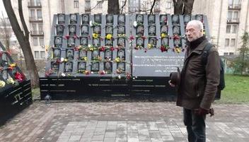 Посол Франции в Украине почтил память борцов за свободу и достоинство