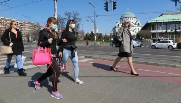 Сербия усиливает карантин из-за коронавируса