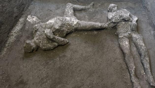 В Помпеях нашли останки двух жертв извержения Везувия