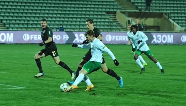 «Ворскла» разгромила «Колос» в матче футбольной Премьер-лиги Украины