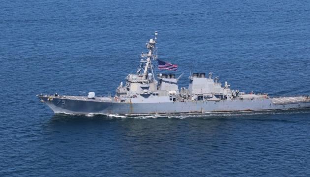 К Черному морю направляется американский эсминец USS Donald Cook