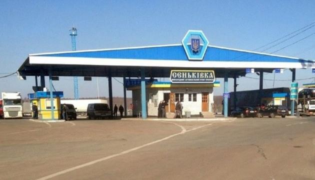 На границе в Черниговской области скопились более 300 фур