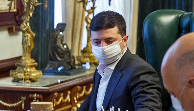 Wochenend-Lockdown und andere Maßnahmen zeigen Wirkung – Beratung mit Präsident Selenskyj