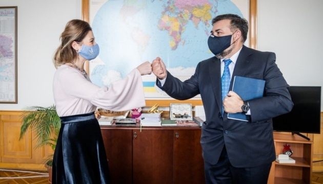 Dzheppar discusses Crimean Platform with ambassador of Cyprus