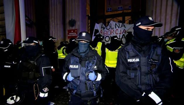 У Варшаві тривають антиурядові протести