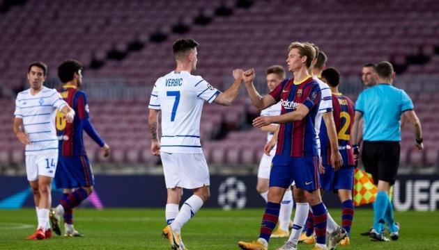 Сегодня «Динамо» принимает «Барселону» в матче Лиги чемпионов УЕФА