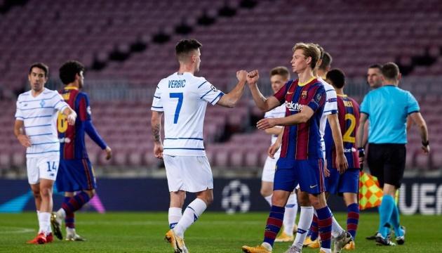 Ligue des champions : aujourd'hui, le Barcelone affronte le Dynamo Kyiv