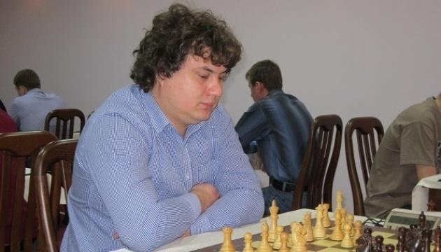 На чемпионате Украины по шахматам впереди идет лидер рейтинга Коробов