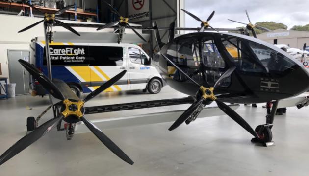 В Австралії представили летючу-«швидку» з автопілотом