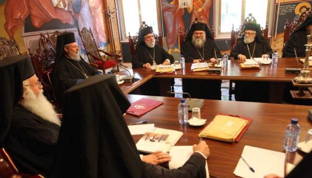 Heiliger Synod der Kirche von Zypern unterstützt Anerkennung der Orthodoxen Kirche der Ukraine