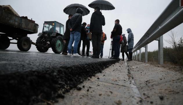 Вблизи Счастья на Луганщине завершили капитальный ремонт на путепроводе