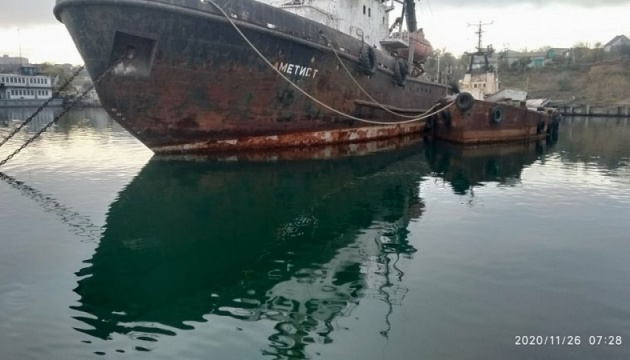 Аварію судна «Аметист» і розлив нафти у Чорноморську спростували в АМПУ