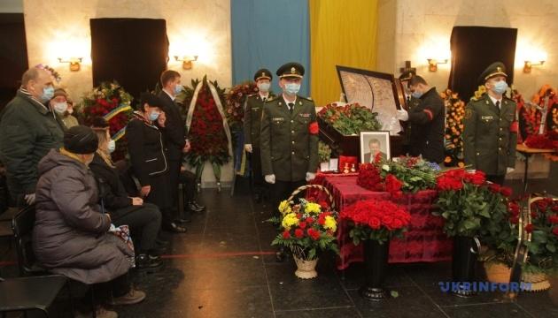 Зеленский принял участие в церемонии прощания с гендиректором КБ «Южное»