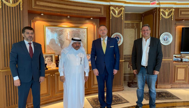 Qatari Businessmen Association ready for cooperation with Ukrainian counterparts