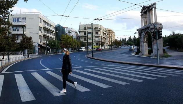 Греція продовжила карантин через пандемію