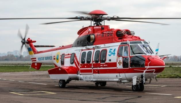 Les sauveteurs ukrainiens ont reçu le cinquième hélicoptère Airbus