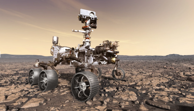 La NASA partage le premier enregistrement de la conduite d'un rover Perseverance sur Mars