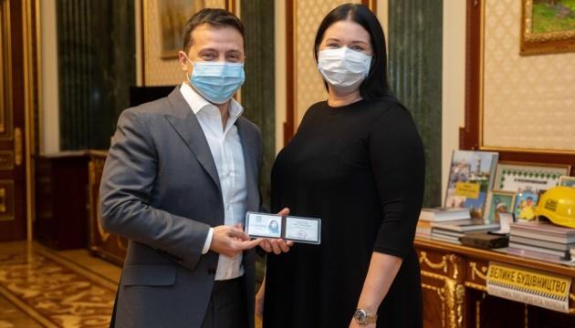 Президент назначил руководительницу Харьковской ОГА