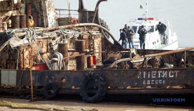 Поліція відкрила справу через забруднення моря нафтопродуктами з буксира «Аметист»
