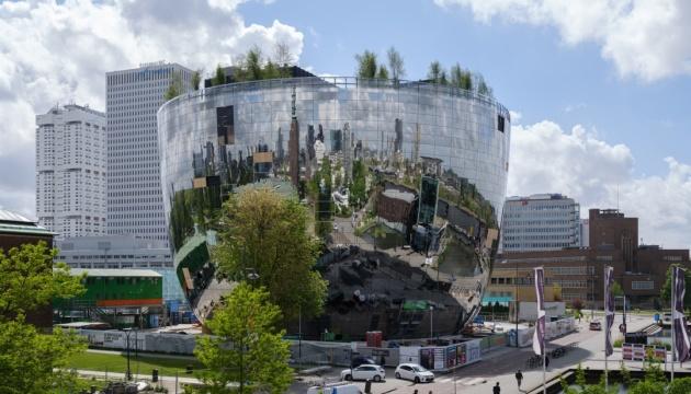 Роттердам запустил туристический AR-маршрут деревьями
