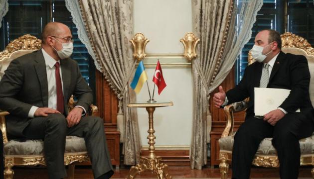 Шмигаль зустрівся з міністром промисловості Туреччини