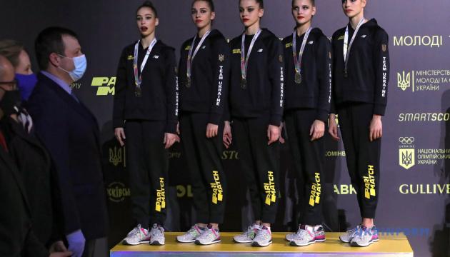 Украина завершила ЧЕ по художественной гимнастике с тремя золотыми медалями